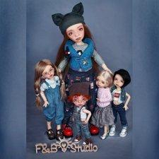Сюрприз от F&B doll studio. Шарнирные авторские куклы