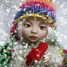 Зимняя сказка. Луша от Dolly hugs crew