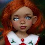 Шарнирная кукла Пуговка