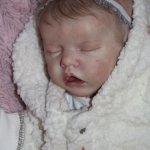 Моя малышка реборн Ева