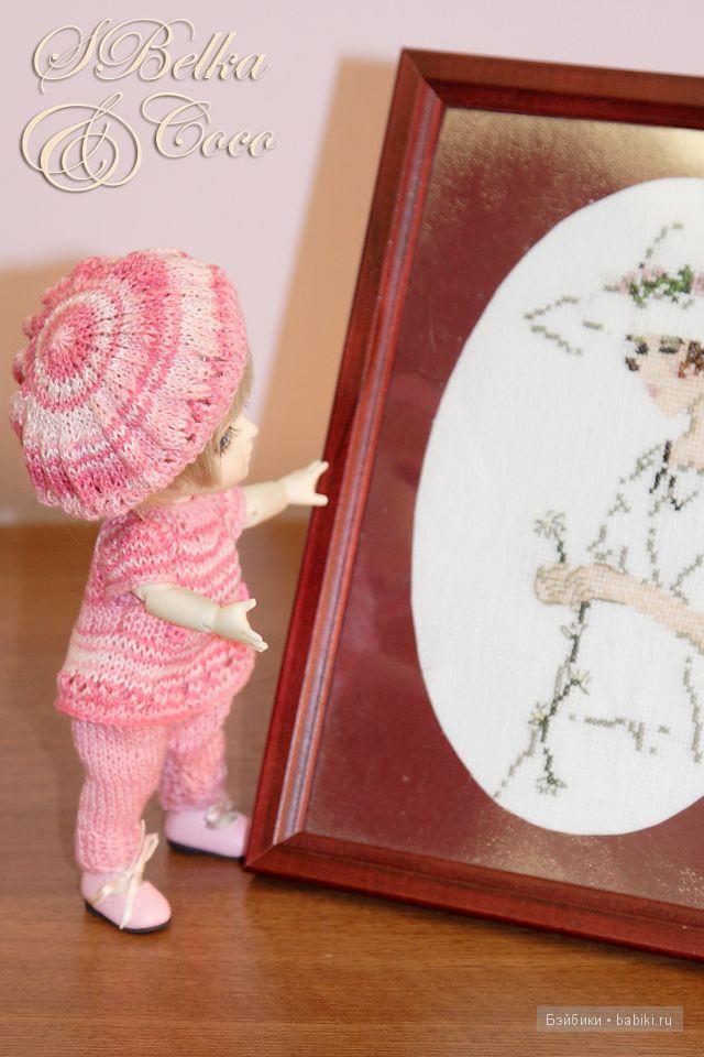 Lati Yellow, одежда для куклы своими руками, вязаная одежда для куклы