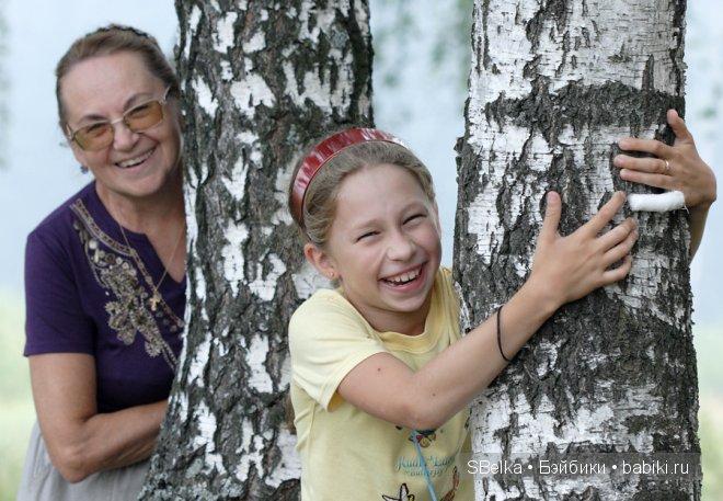 Моя мама с моей дочерью