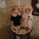 2 фарфоровые куклы одним лотом