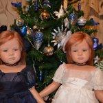 С Новым годом! Мои куклы Ruth Treffeisen