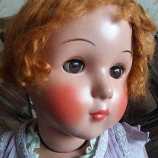 Опилочная кукла СССР Светлана