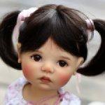 Саффи sunkissed с фабричным мейком от Meadow dolls
