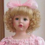 Новая жизнь ангелов. Фарфоровая кукла Аида, Angel collection
