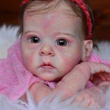 Малышка реборн Лулу из молда Saiorse  от Bonnie Brown