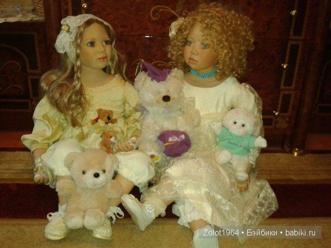 Фарфоровые сестрички от Кристин Оранж - Теодора и Арабелла