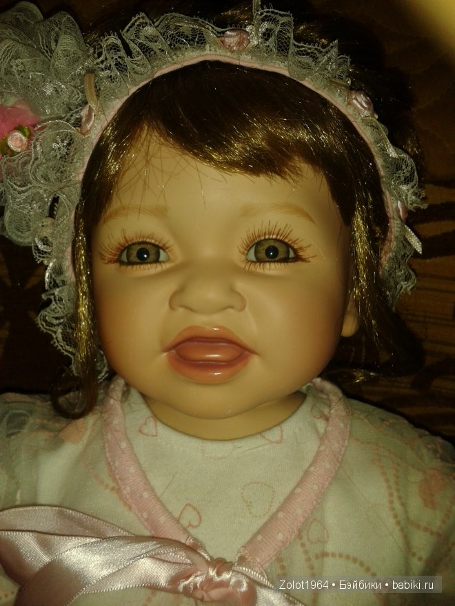 Куколка фарфоровая от Памелы Эрфф (Pamela Erff)