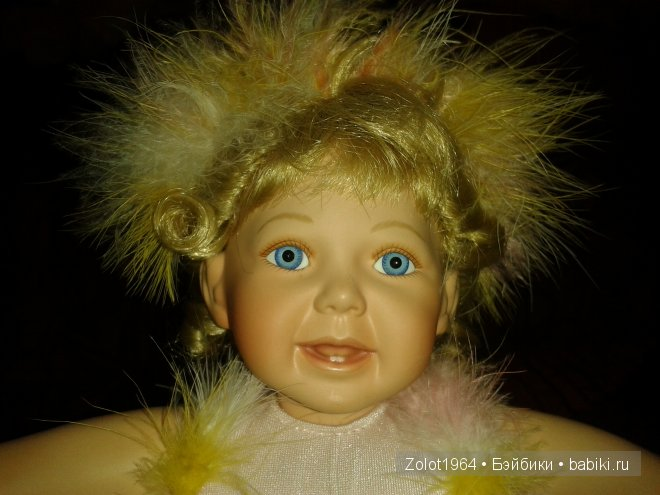 Фарфоровая кукла балеринка от Ashton Drake