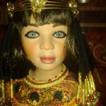 Клеопатра - царица Египта, от Sue Narula