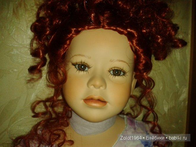 Фарфоровая кукла Filouna от мастера Shirley