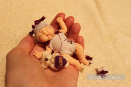 Ирина Мекко, малыш из пластики, Fimo Puppen