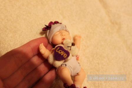 Ирина Мекко, девочка, малыш из пластики, Fimo Puppen