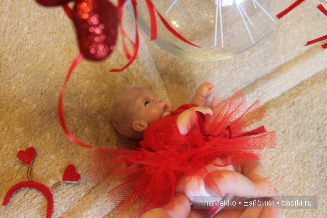 Авторская кукла Ирины Мекко, Дарина, Living Doll, ооак