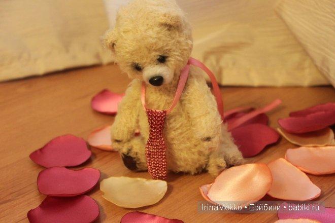 авторский медвежонок Дидье от Анастасии Дунаевой