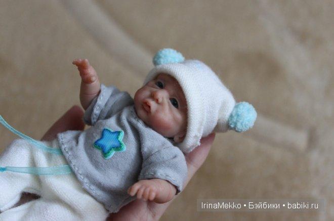 Living Doll, авторская кукла Ирины Мекко, малыш из пластики, Даниэльчик