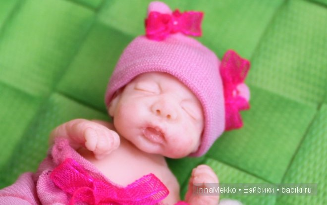 Авторская кукла Ирины Мекко, Fimo Puppen