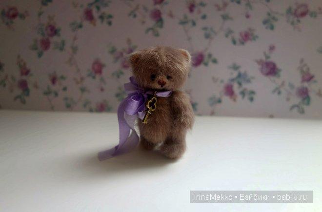 авторская игрушка Ирины Мекко, мини мишка