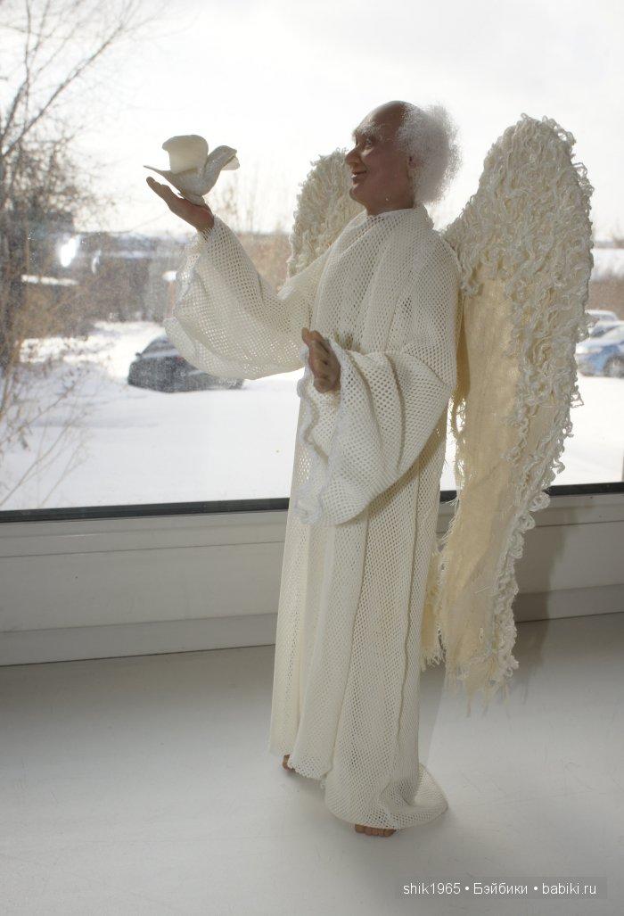 авторская кукла Ангел-хранитель Шавер Ирины