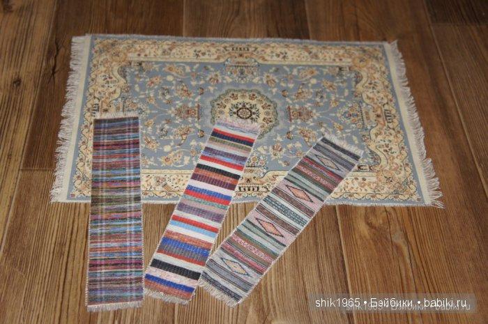 печатный коврик и половички
