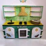 Кукольная мебель (кухня, комод, стол, стул,лошадка-качалка)