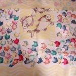 Шелковые платки для пошива кукольной одежды