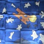 Шелковые платки для пошива кукольной одежды (батик)