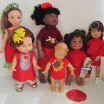 Лот одежды для разных кукол