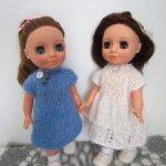 Платья для кукол Ася ( Весна ) 25см
