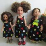 Лот одежды для разных кукол более 30 предметов