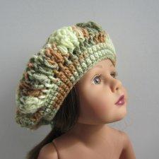 шапочки для кукол
