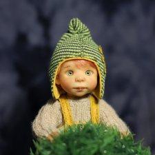 Лежек. Авторская кукла Виктории Балибок