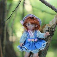 Эльфиечка. Авторская кукла Виктории Балибок