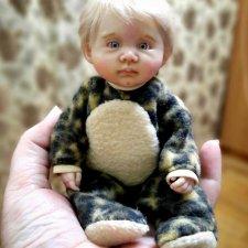 Пупсик. Авторская кукла Виктории Балибок