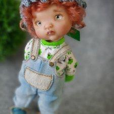 Сашенька. Авторская кукла Виктории Балибок