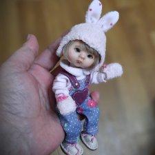 Заинька. Куколка на теле Баболи