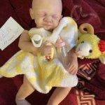 Продаю почти готовую куклу реборн