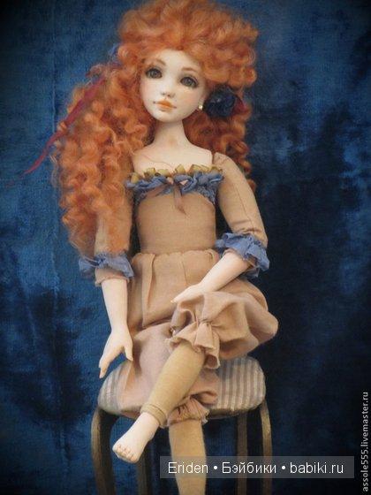 Авторские куклы Любови Мироновой