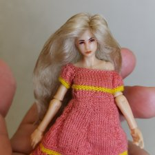 Удачный кастом! Замена волос кукле Planet Green Valley