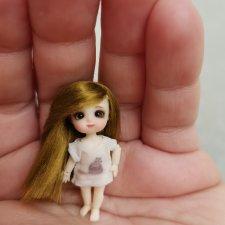 Парички для микро кукол