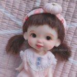 ob11 H.Minor doll авторская головка для 11см тел.