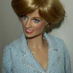 Виниловая кукла принцесса Диана от Франклин Минта