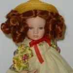Коллекционная фарфоровая кукла Паулины Якобсен