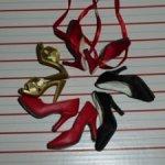 Обувь для коллекционных кукол Тоннер 3 шт.