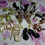 Обувь для коллекционных кукол Fashion Royalty 8 шт