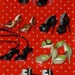 Обувь для коллекционных кукол Fashion Royalty 7 шт
