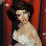Коллекционная виниловая кукла Элизабет Тейлор Франклин Минт