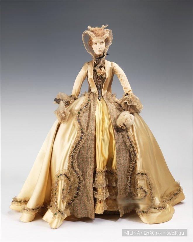 Шикарные платья 18 века